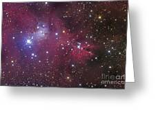 The Cone Nebula Greeting Card