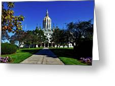 The Connecticut State Capitol Greeting Card