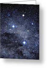 The Constellation Of The Southern Cross Greeting Card
