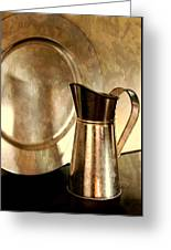 The Copper Pitcher Greeting Card