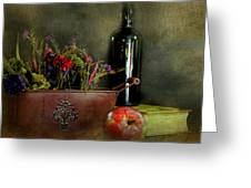 The Copper Planter Greeting Card
