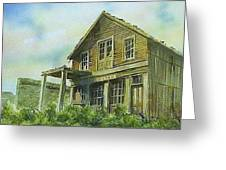 The Cosmopolitan Belmont Ghost Town Nevada Greeting Card