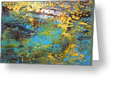 The Cottage By The Lagoon Greeting Card