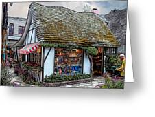The Cottage Of Sweets - Carmel Greeting Card