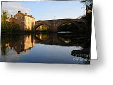 The County Bridge Greeting Card