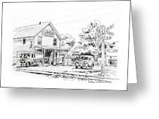 The County Line Store, 1931 Greeting Card
