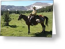 The Cowboy #5 Greeting Card