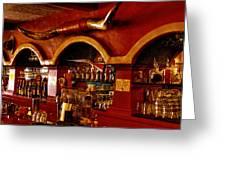The Cowboy Club Bar In Sedona Arizona Greeting Card by David Patterson