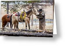 The Cowboy Way Greeting Card