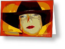 The Cowgirl Greeting Card