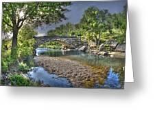 The Crabb Creek Bridge Greeting Card