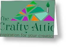 The Crafty Attic Greeting Card