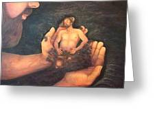 The Creation   Study One Greeting Card