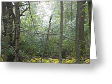 The Cross In The Woods Greeting Card