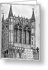 The Crossing Tower Greeting Card