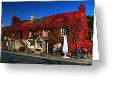 The Crown At Kelston Greeting Card
