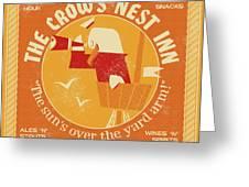The Crow's Nest Inn Greeting Card