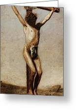 The Crucifixion 1880 Greeting Card