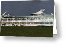 The Cruise Ship Greeting Card