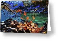 The Crystal Waters Of Lake Tahoe Greeting Card