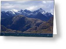 The Cuillin Mountains Isle Of Skye Greeting Card