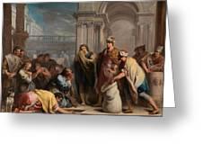 The Cup In Benjamin Sack Amigoni, Jacopo Greeting Card