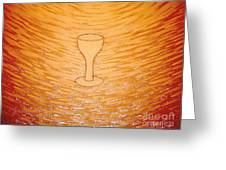 The Cup Of Salvation Greeting Card