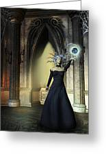 The Curse Of The Sorceress Greeting Card
