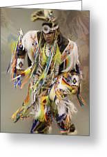 Pow Wow The Dance 4 Greeting Card