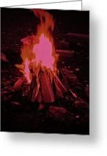 The Dance Of Fire Greeting Card