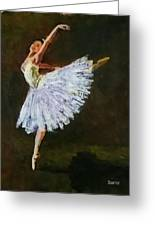 The Dancing Ballerina Greeting Card