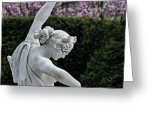 The Dancing Lesson Statue Greeting Card