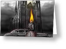 The Dark Angel Greeting Card