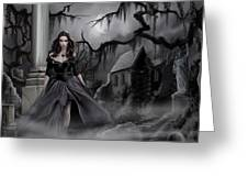 The Dark Caster Comes Greeting Card