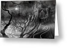 The Dark Castle Greeting Card
