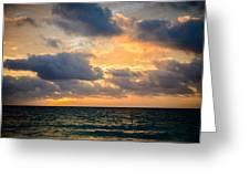 The Dark Sea Greeting Card