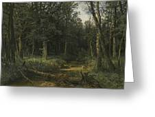 The Dark Wood Greeting Card