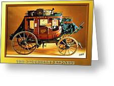 The Daugherty Express Greeting Card