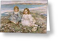 The Daughters Of Bertram Roberts Greeting Card