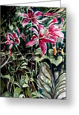The Day Lilies Greeting Card