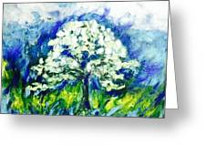 The Day Of Tree Greeting Card