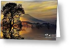 The Days Blank Slate Greeting Card by Chris Armytage