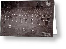 The Dead At Shiloh Greeting Card
