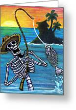 The Dead Sea  Greeting Card