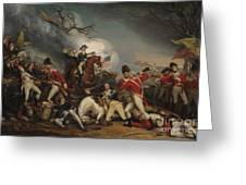The Death Of General Mercer At The Battle Of Princeton, January 3, 1777  Greeting Card