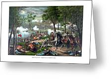 The Death Of Stonewall Jackson Greeting Card by War Is Hell Store