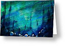 The Deep Places Greeting Card
