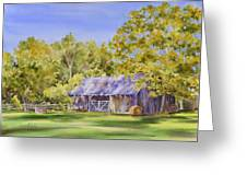 The Delaune Barn Greeting Card
