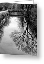 The Delaware And Raritan Canal Greeting Card