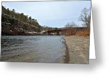 The Delaware River Greeting Card